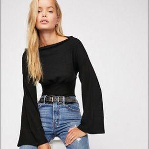 Free People Crazy on You Thermal Top